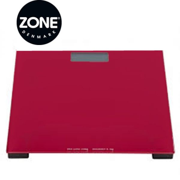 Zone Deep red personenweegschaal
