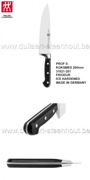Zwilling koksmes PROFESSIONAL S 200mm